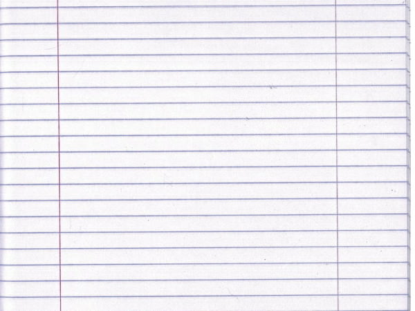 white lined notebook paper texture