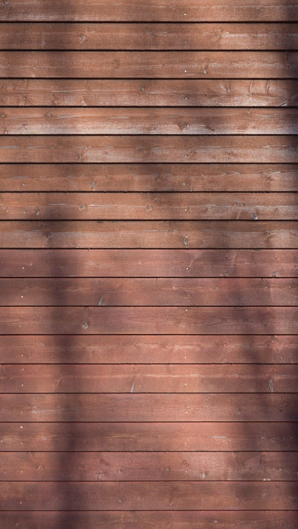 Wooden Terracotta Wall iPhone Background
