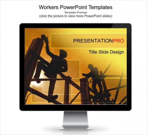 Workers PowerPoint Presentation Template
