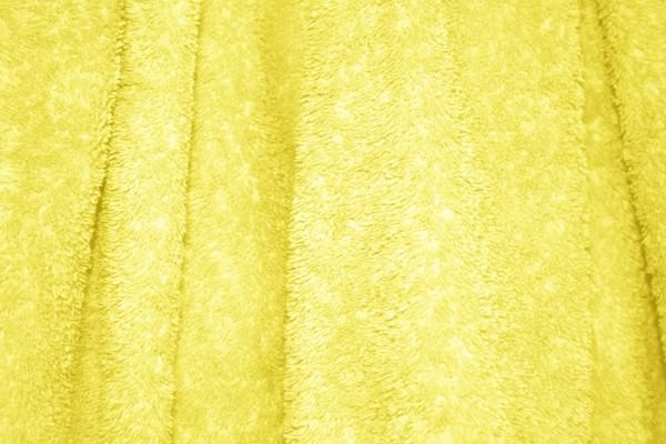 Yellow Terry Cloth Bath Towel Texture