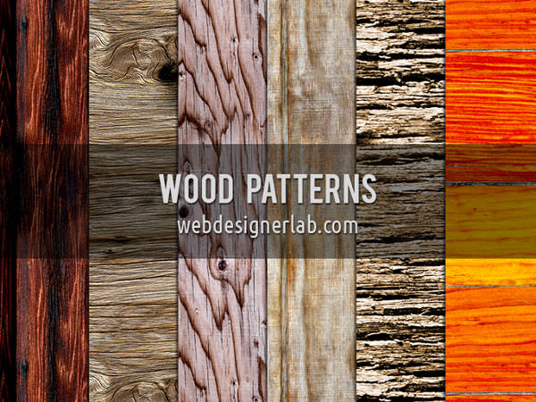 high quality wooden patterns