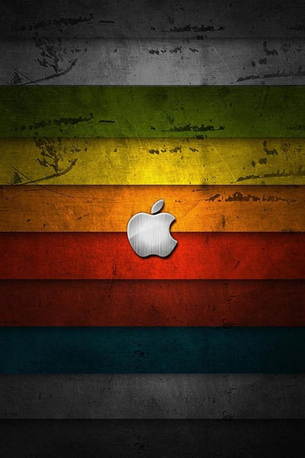 iPhone 4 Apple Logo Background