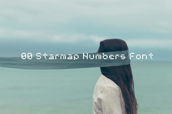 00 Starmap Numbers Font