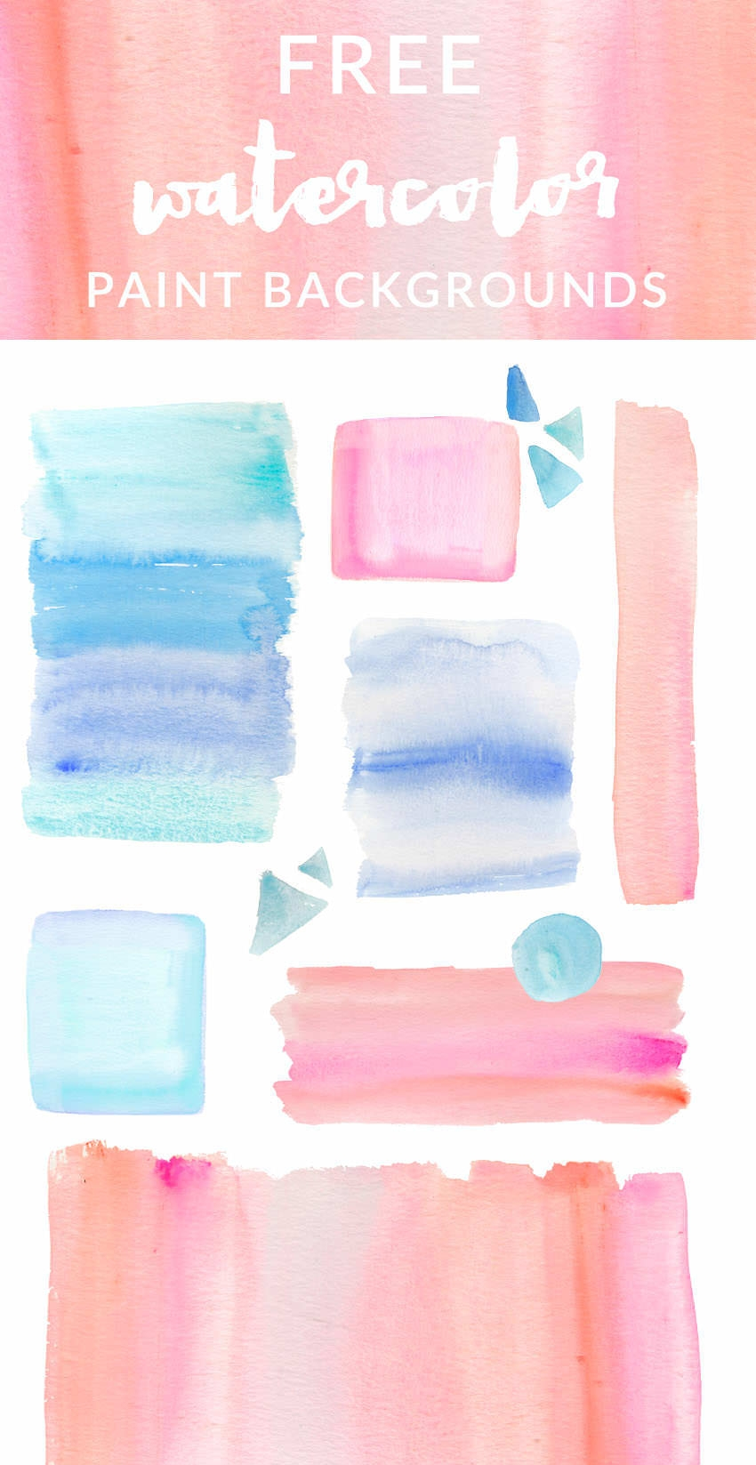 15 Free Watercolor Backgrounds