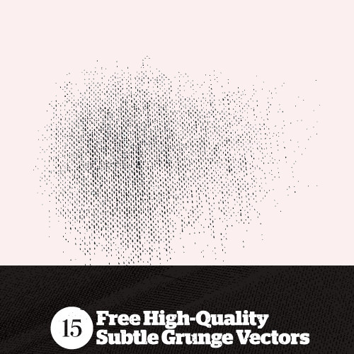 15 High Quality Seamless Subtle Grunge Vector Patterns
