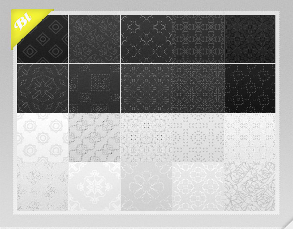 21 Free Black & White Patterns