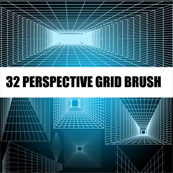 32 Free Grid Brushes Download