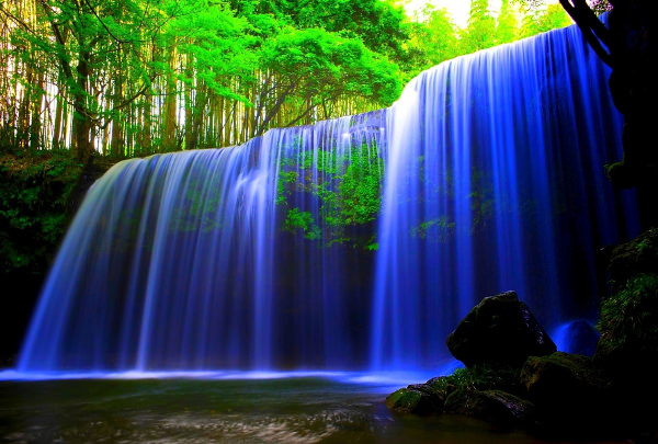 3D Live Waterfall Wallpaper