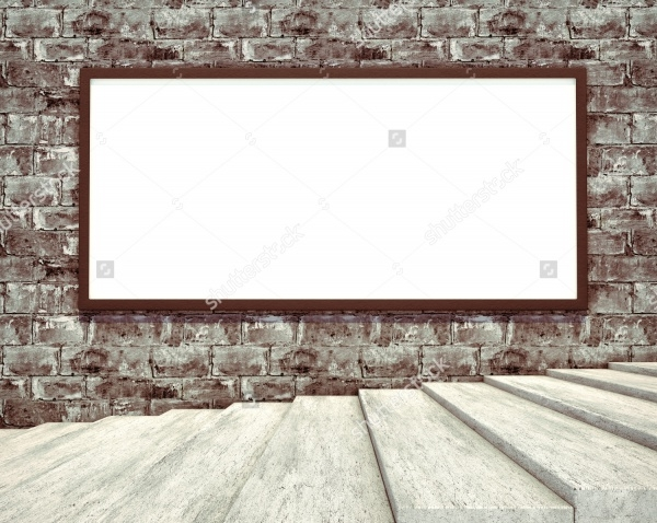 3D photorealistic render Banner Mockup