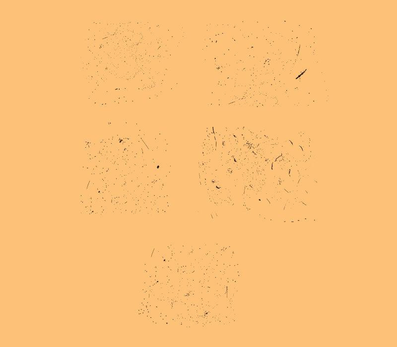 5 Free Vector Speckle Textures