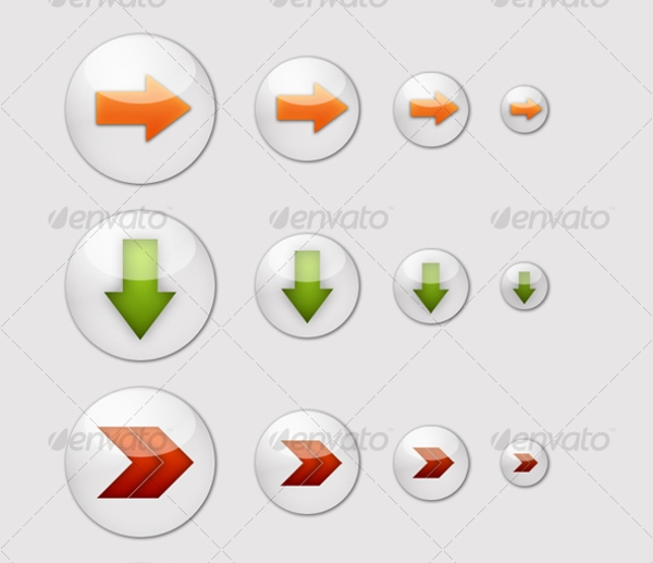 6 Cool Arrow Buttons