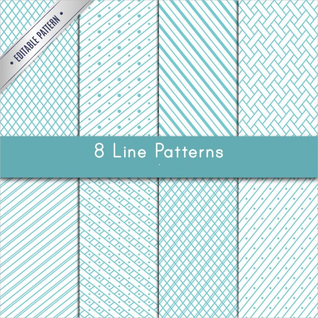 8 Variety of Lines Patterns