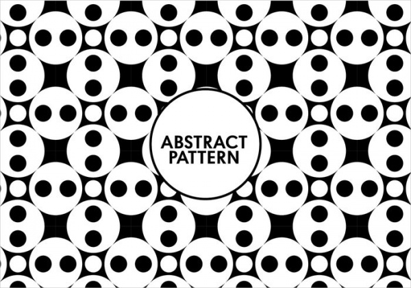 Abstract Black & White Pattern For You
