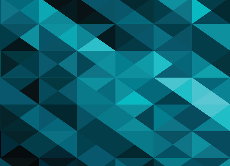 Abstract Blue Polygon Style Background
