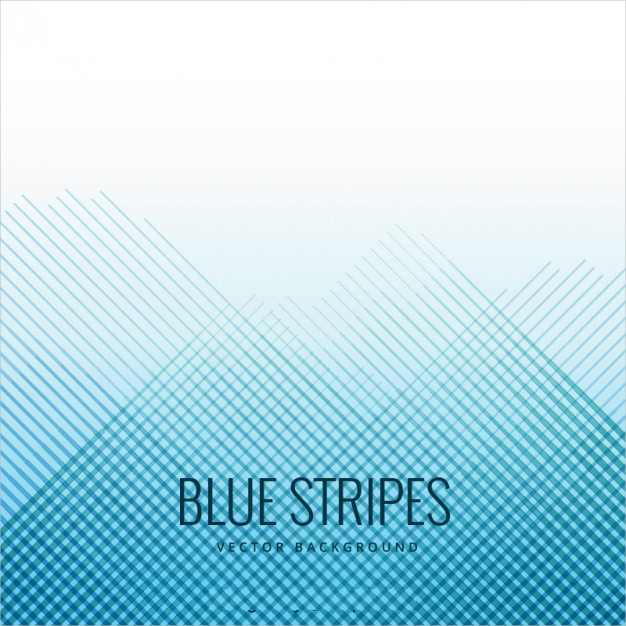 Abstract Blue Stripes Background Free Vector