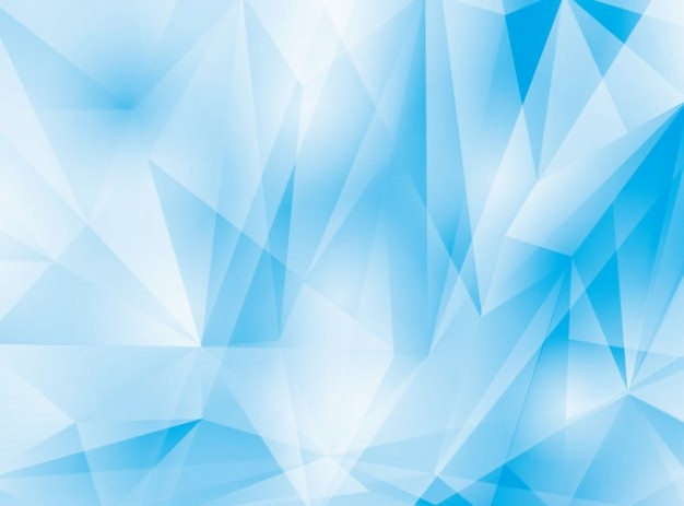 Abstract Cool Blue Geometrical Background