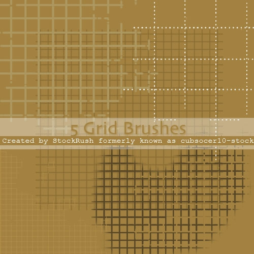 Abstract Grid Brushes