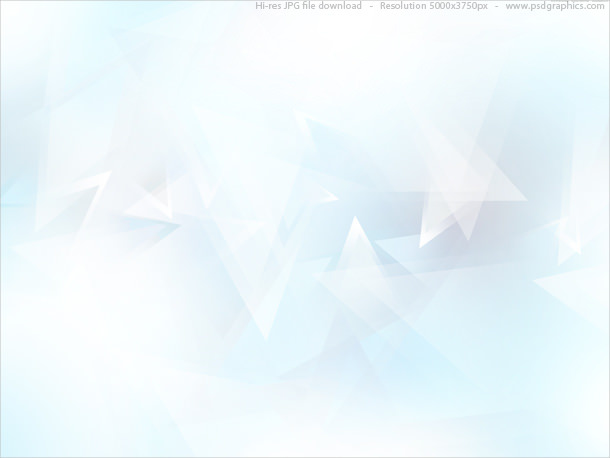 Abstract Light Blue Triangles Background For Free