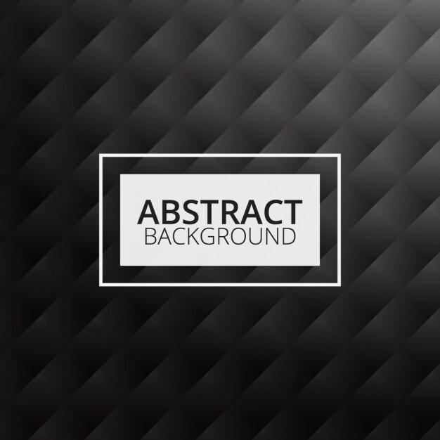Abstract Pattern in Black Free Vector