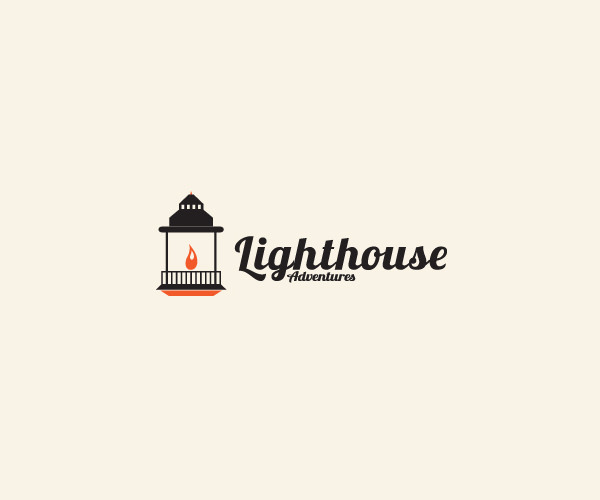 Adventure Light House Logo Design For Free