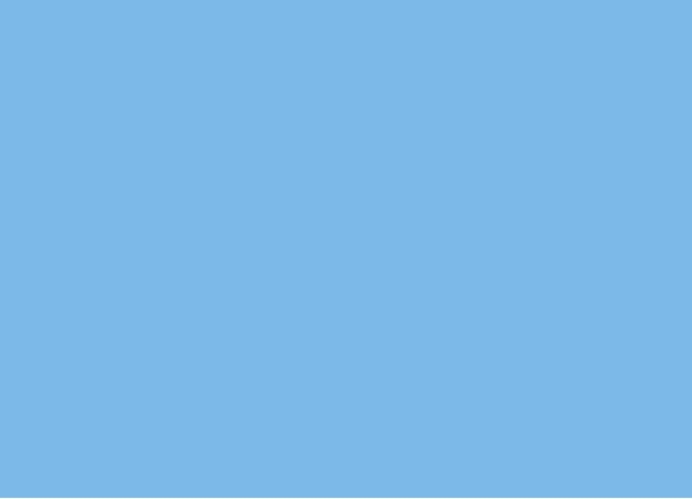 Aero Plain Blue Solid Color Background