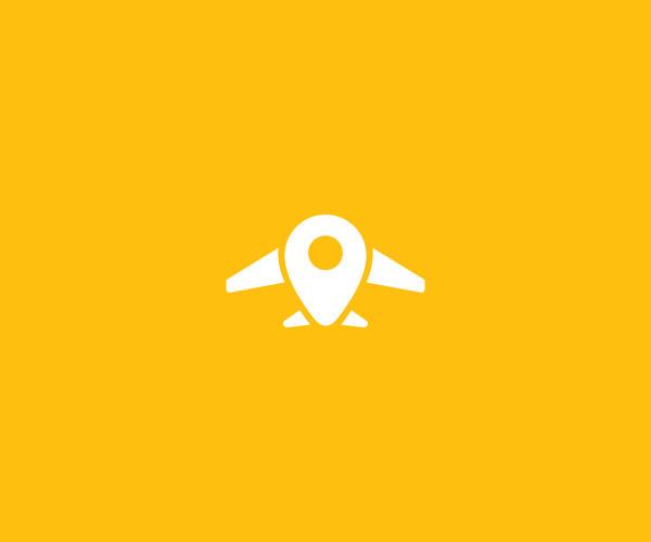 Air Plane Robot Logo Design For Free