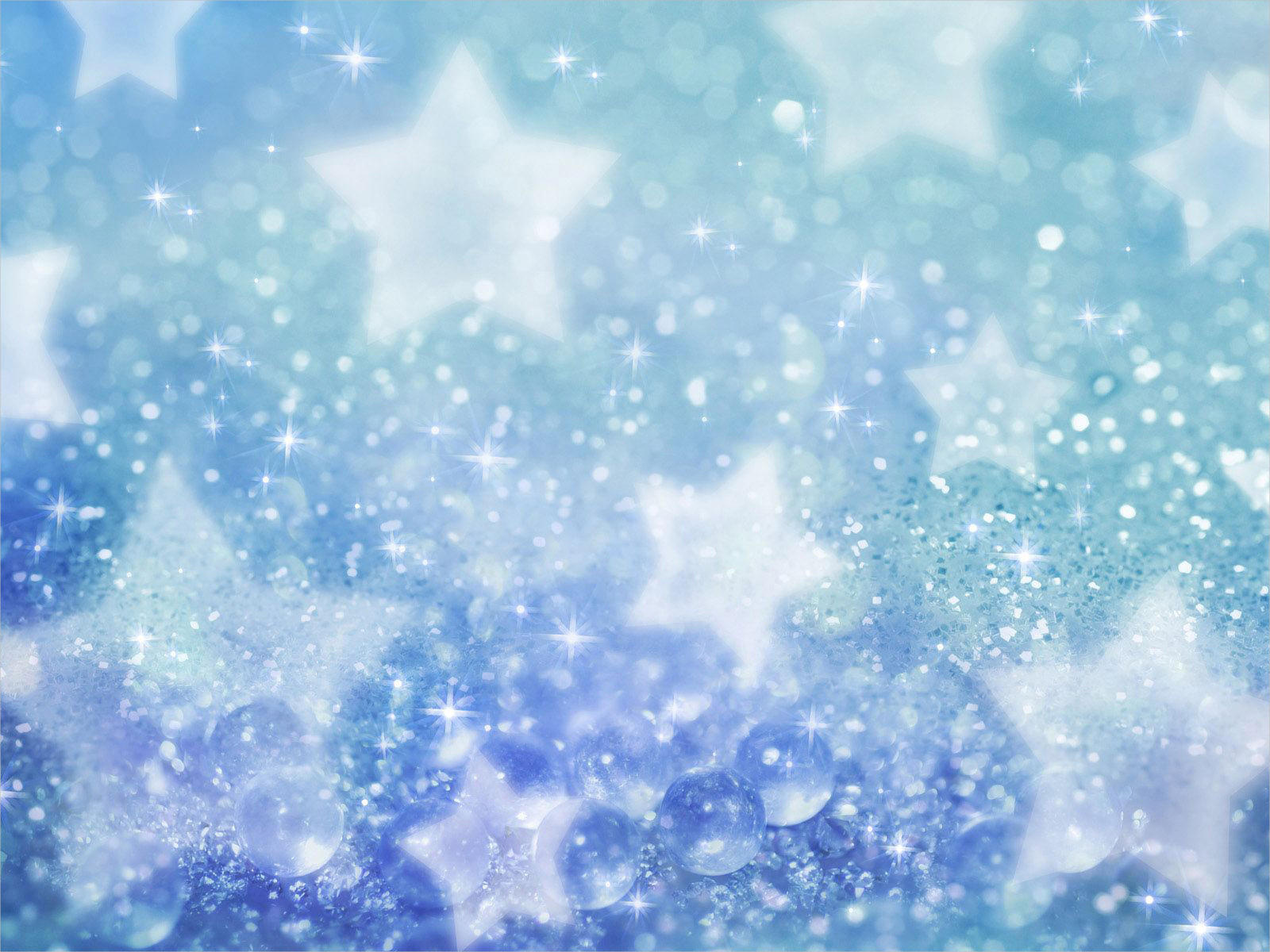 Amazing Free Blue Glitter Background For You