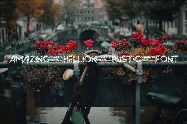 Amazing Hellion Rustic Font