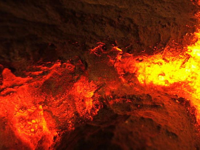 Amazing Lava Heat Texture