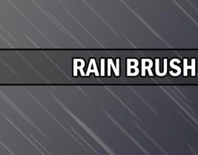 Amazing Rain Brush
