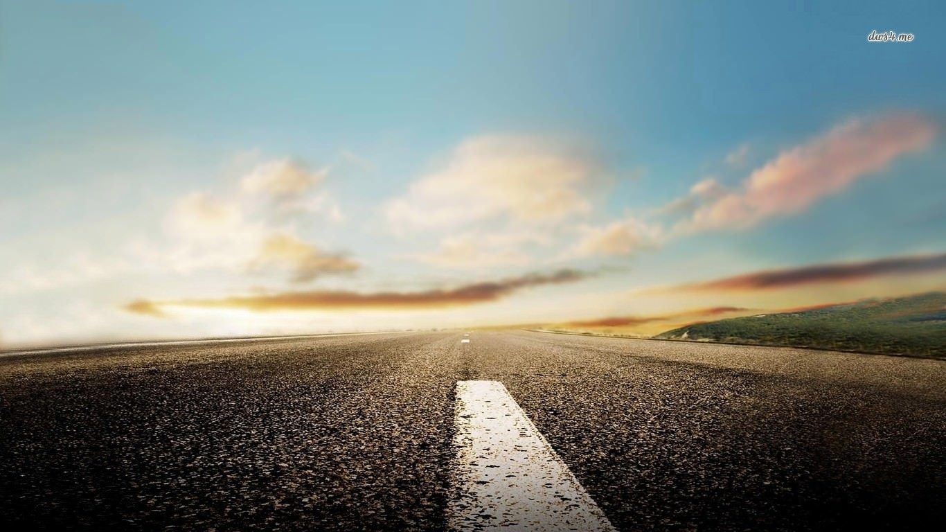 Amazing Road Background For Free