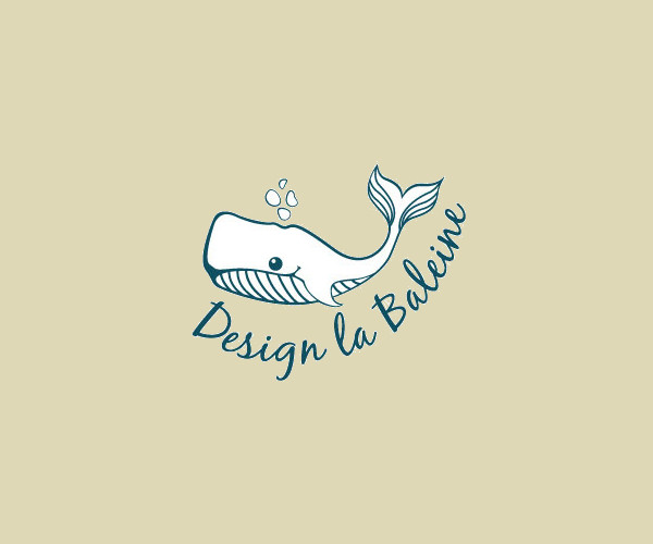 Amazing Whale Logo Design For Free