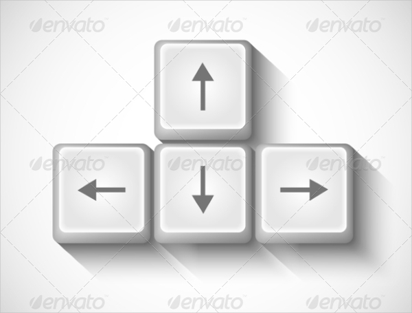 Arrow Buttons for Keyboard