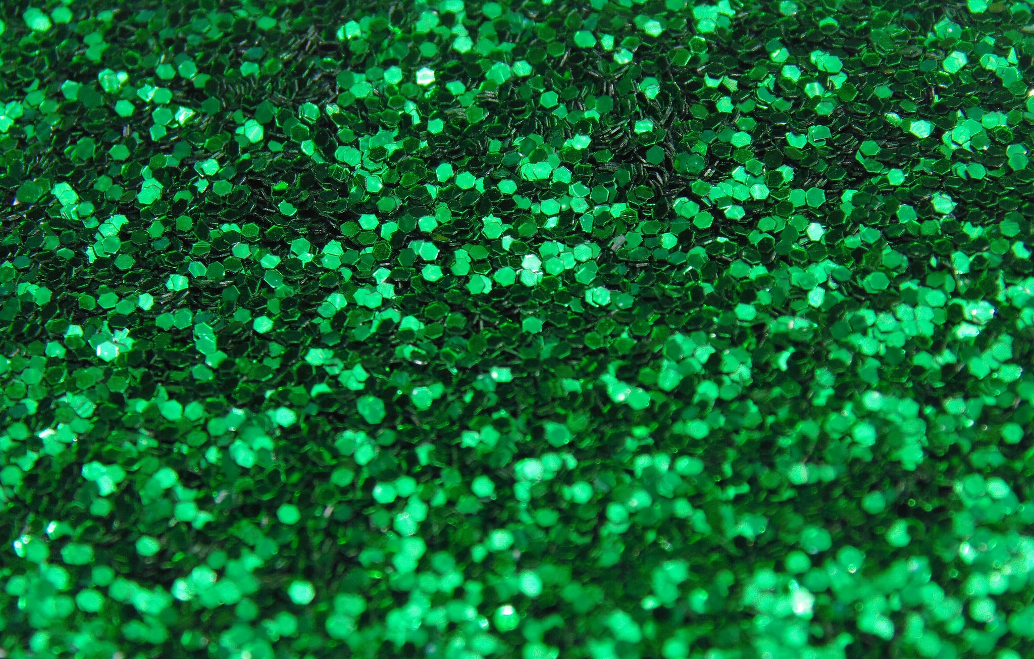 Awesome Green Glitter Background