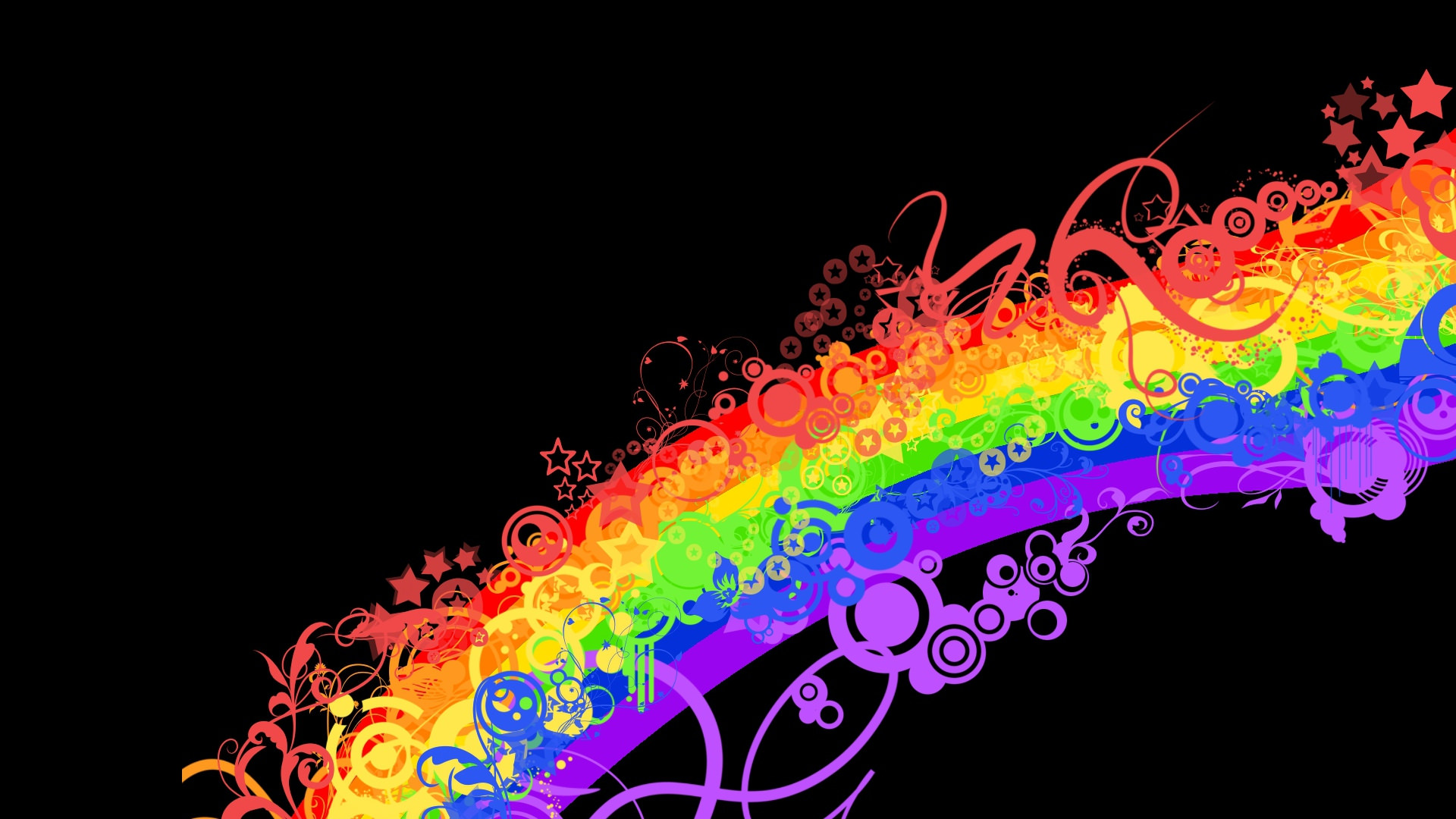 15+ Rainbow Patterns – Free PAT, PNG, Vector, EPS Format ...
