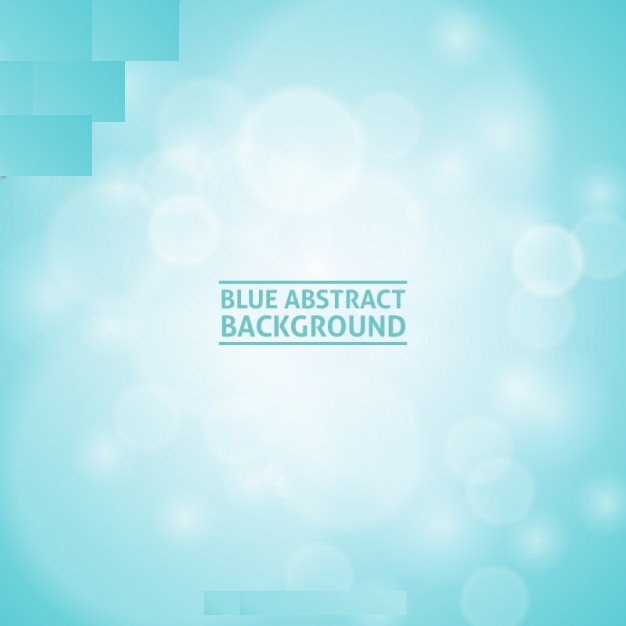 Baby Blue Abstract Background Free Vector