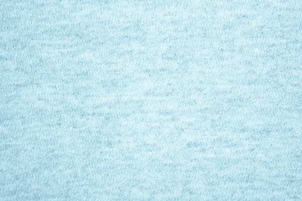 Baby Blue Knit T-Shirt Fabric Texture