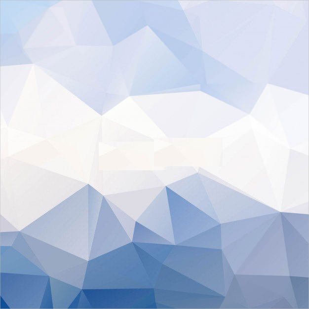 Baby Blue Polygonal Background Free Vector
