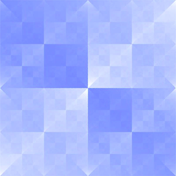 Baby Blue Sierpinski Square Fractal Background