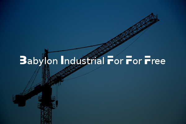 Babylon Industrial For For Free