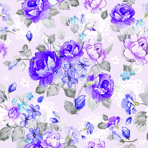 Beautiful Floral Pattern Wallpaper