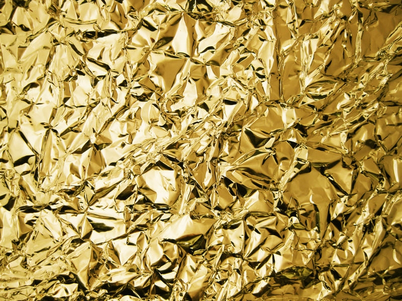 Beautiful Gold Foil Texture for Photoshop