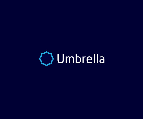 Beautiful Umbrella Logo Design For Free