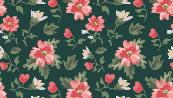 20 Vintage Floral Patterns Photoshop Patterns Freecreatives