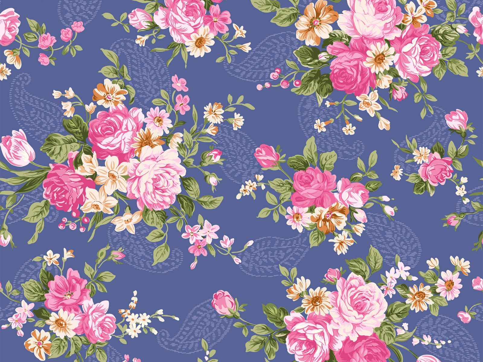 Greenwich Rose | A stunning, incredibly detailed interiors ... |Vintage Floral Rose Pattern
