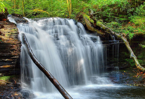 21 Waterfall Wallpapers Backgrounds Images Freecreatives