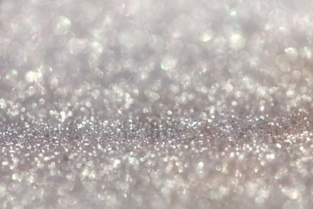 Beautiful White Glitter Background Wallpaper