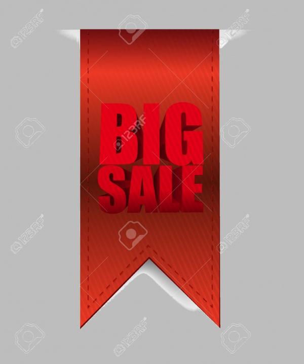 Big Sale Hanging Banner Design