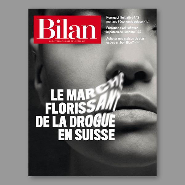 Bilan Finance Magazine Cover