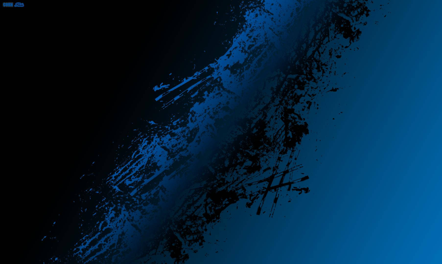 Black And Blue Abstract Background For Free